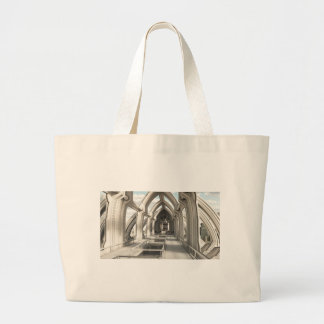 Inside a Future City Canvas Bags