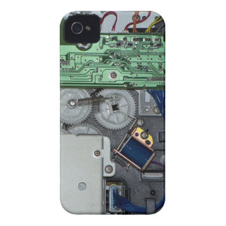 Inside a laser printer iPhone 4 cover