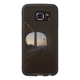 inside a Tunnel Wood Phone Case