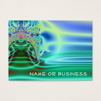 Inside a Water Drop Business Card