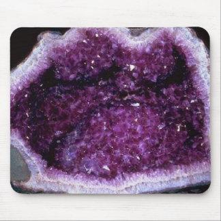 Inside an Amethyst Geode mousepad