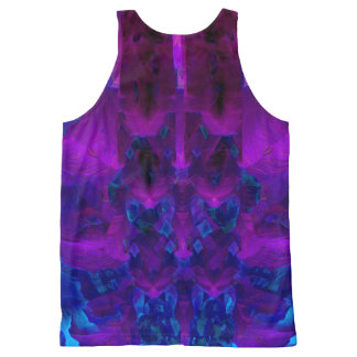 Inside and Out All-Over-Print Tank Top