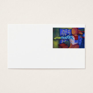 Inside and Out – Azure and Crimson Passage Business Card