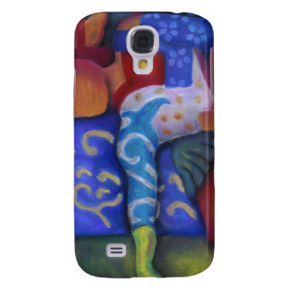 Inside and Out – Azure and Crimson Passage Samsung Galaxy S4 Cases