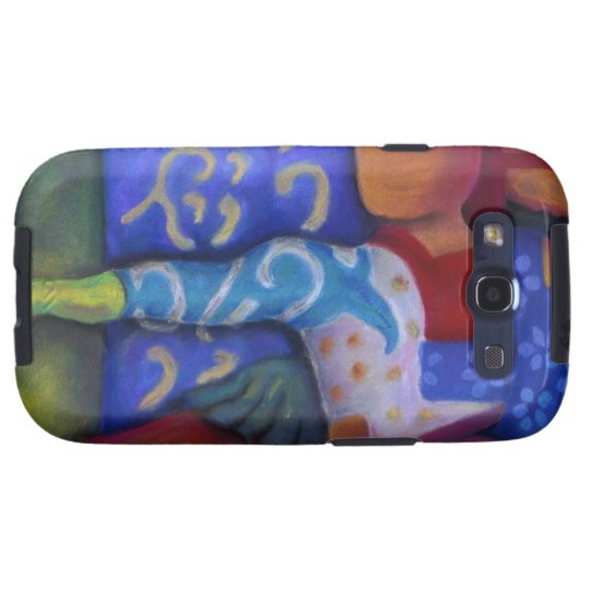 Inside and Out – Azure and Crimson Passage Galaxy S3 Cover