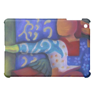 Inside and Out – Azure and Crimson Passage iPad Mini Case
