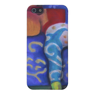 Inside and Out – Azure and Crimson Passage iPhone 5 Cases
