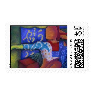 Inside and Out – Azure and Crimson Passage Postage