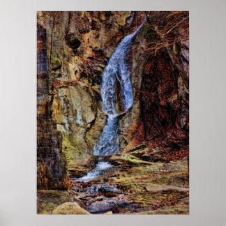 Inside Buttermilk Falls Poster
