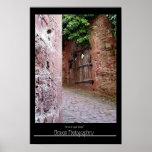 Inside Castle Walls-Heidelberg, Germany Poster
