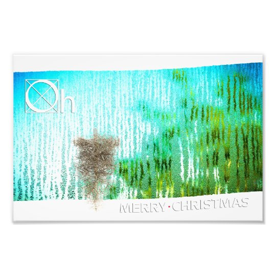 inside christmas photo print