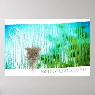 inside christmas poster