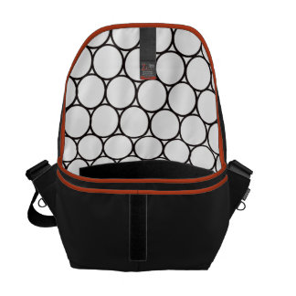 Inside Circles Messenger Bag