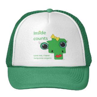 Inside counts trucker hat