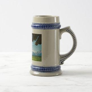 Inside Cunningham Cabin Coffee Mugs