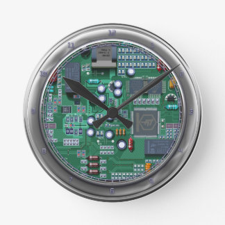 Inside Digital  Wall Clock