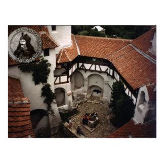 Inside Dracula's castle Postcard