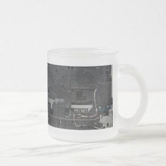 Inside electronic machine mug