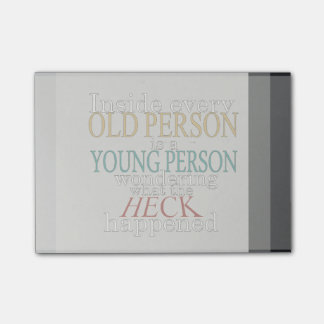 Inside Every Old Person Is a Young Post-it® Note