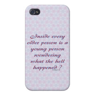 Inside Every Older Person iPhone 4 Case