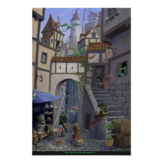 inside goblin city poster