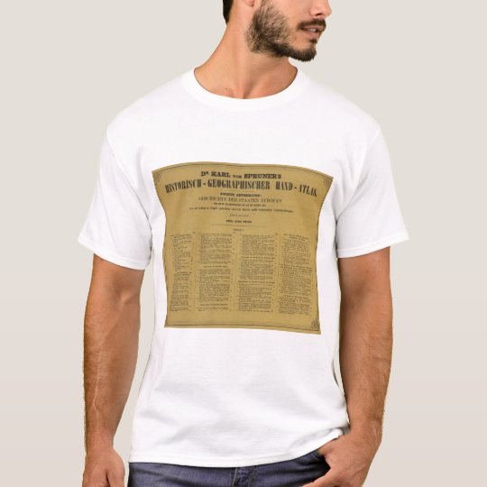 Inside Historischgeographischer Hand Atlas T-Shirt