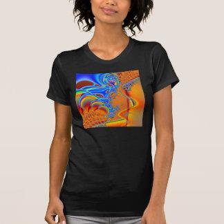 Inside I · Fractal Art · Blue & Orange Shirt