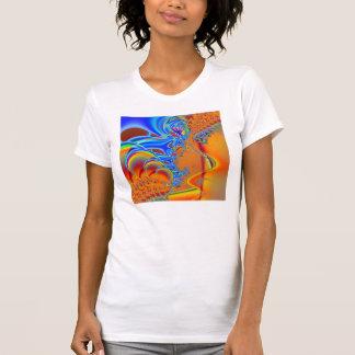 Inside I · Fractal Art · Blue & Orange T-shirt