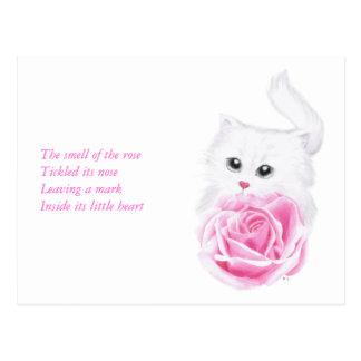 Inside its little heart postcard