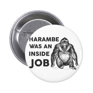 Inside Job Harambe Button