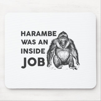 Inside Job Harambe Mouse Pad