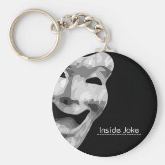 Inside Joke Classic Keychain