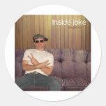 Inside Joke Sticker