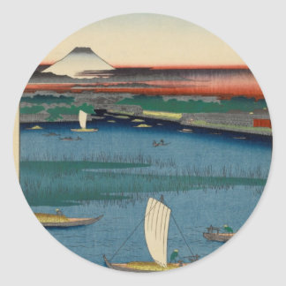 Inside Kameido Tenjin Shrine Classic Round Sticker