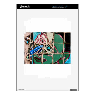 Inside Looking Out Mosaic Graffiti iPad 2 Decal
