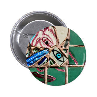Inside Looking Out Pinback Button