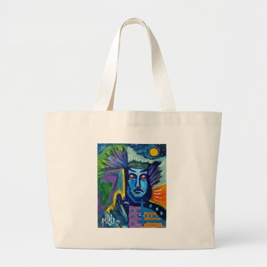 Inside Man by Piliero Large Tote Bag