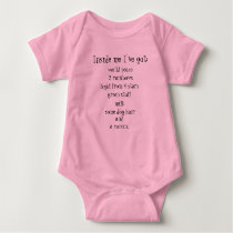 Inside me I've got... Baby Bodysuit