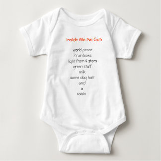 Inside Me I've Got: Tee Shirt