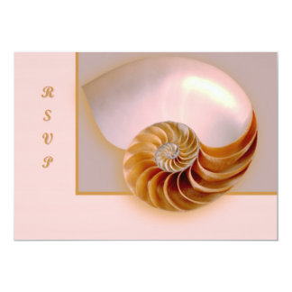 Inside Nautilus 5x7 Paper Invitation Card