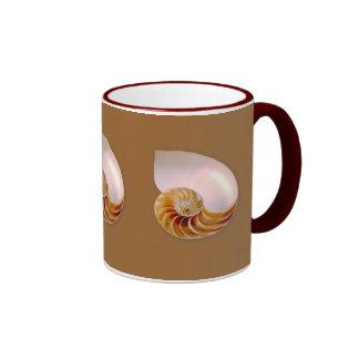 Inside Nautilus Ringer Coffee Mug