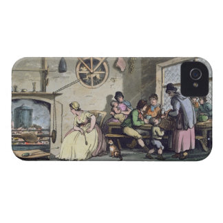 Inside of a Kitchen at Newcastle, published 1800 ( iPhone 4 Case-Mate Case
