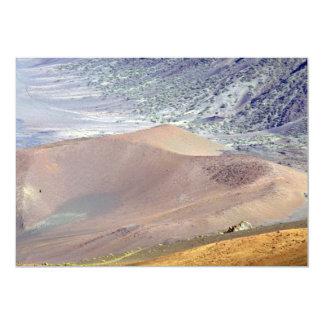 """Inside of Haleakala Crater, Maui, Hawaii, U.S.A. 5"""" X 7"""" Invitation Card"""