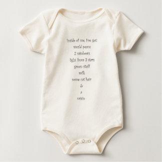 Inside of me baby bodysuit
