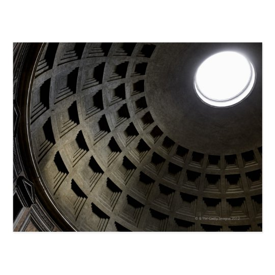 Inside of Pantheon Postcard