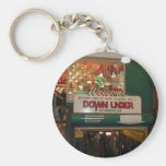 Inside Of Pike Place Market In Seattle Basic Round Button Keychain