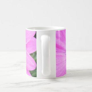 Inside of Pink Purple Gerbera Daisy Flower Nature Coffee Mug