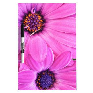 Inside of Pink Purple Gerbera Daisy Flower Nature Dry Erase Board