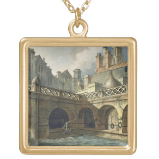 Inside of Queen's Bath, from 'Bath Illustrated by Custom Jewelry
