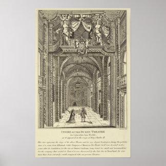 Inside of the Dukes Theatre in Lincoln's Inn Poster